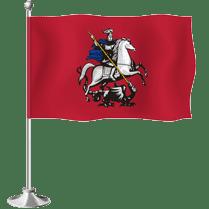 Настольный флаг Москвы