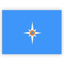Флаг МЧС России
