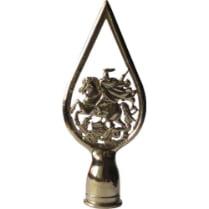 Навершие с гербом Москвы металлическое