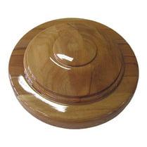 Основание деревянное «блин», светлый бук