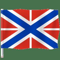 Гюйс и крепостной флаг России