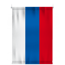 Флаг России для крепления к потолку