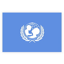Флаг ЮНИСЕФ