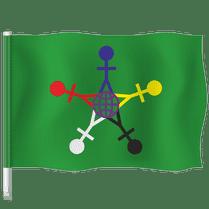 Флаг Международного дня защиты детей