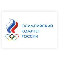 Флаг Олимпийский комитет России