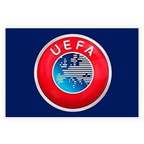 Флаг Европейская федерация футбола