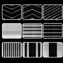 LED-световой занавес «Диджитал» 2х3 м.
