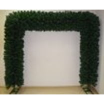Еловая арка зелёная d-40см