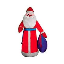 Надувная фигура «Дед Мороз в красном халате»