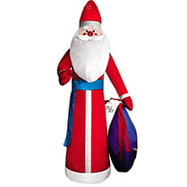 Надувная фигура «Дед Мороз в красной шубе», 2,8 м