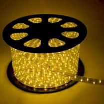 Дюралайт LED желтый 100м d-13мм