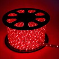 Дюралайт LED красный 100м d-10.5мм