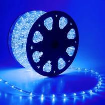 Дюралайт LED синий 100м d-10.5мм