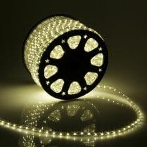 Дюралайт LED тёплый белый 100м d-10.5мм