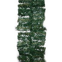 Еловая гирлянда зелёная d-25 см