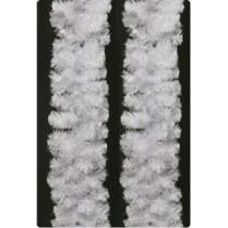 Еловая гирлянда белая d-28 см