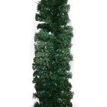 Еловая гирлянда зелёная d-28 см