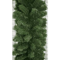 Еловая гирлянда зелёная d-40 см