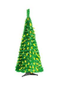 Настольная складная елка из мишуры 60 см