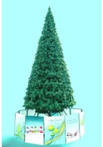 Новогодняя елка «Альпийская» (леска)