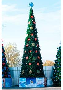 Новогодняя елка Евро2 (Леска)