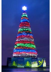 Новогодняя елка «Северное сияние» (пленка)