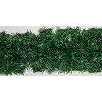 Еловая гирлянда зелёная с коричневой серединкой d-28 см