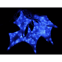Светодиодная гирлянда «Мерцающие звёзды» бело-синяя 6 шт.
