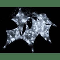 Светодиодная гирлянда «Мерцающие звёзды» бело-синяя 12 шт