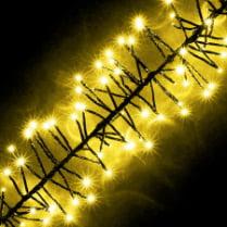 LED-гирлянда «Волшебная гроздь люкс» желтая, 450 светодиодов, 6м