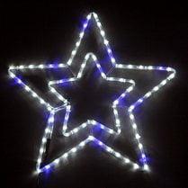 LED-фигура «Звезда» мерцающая, 50х50 см