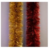 Мишура новогодняя «Пастель» 10 см
