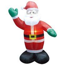 Надувная фигура «Санта Клаус», внутренняя подсветка 1,8м