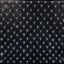 Светодиодная сетка RICH LED сине-белая с контроллером 2х1.5м, прозрачный провод