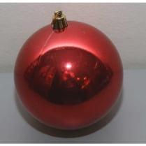 Шар новогодний d-15 см, цвет красный, глянец