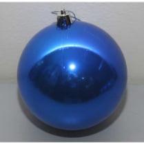 Шар новогодний d-15 см, цвет синий, глянец