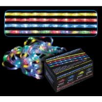 LED гирлянда «Лента» 100 разноцветных светодиодов, с контроллером
