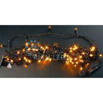 Светодиодная гирлянда Rich LED нить 20 М, желтая