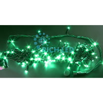 Светодиодная гирлянда Rich LED нить 20 М, зелёная