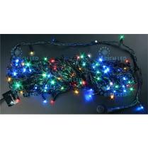 Светодиодная гирлянда Rich LED нить 20 М, мульти
