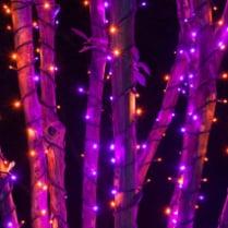 Светодиодная гирлянда Rich LED 3 нити по 20 м, супер RGB хамелеон