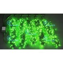 Светодиодная гирлянда Rich LED 5 нитей по 20 м, зелёный