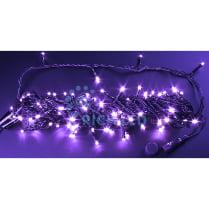 Светодиодная гирлянда Нить 20 М, 220В, фиолетовая, постоянного свечения