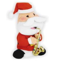 Музыкальная фигура «Санта с саксофоном малый» 20 см
