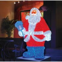 Объемная световая фигура «Санта Клаус» 160 см