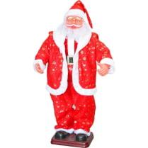 Поющий Санта Клаус большой