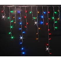 Светодиодная бахрома RICH LED мульти 3х0.5 м