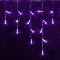 Светодиодная бахрома RICH LED фиолетовая 3х0.5 м