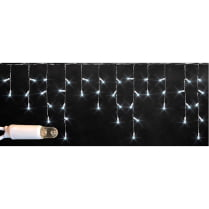 Светодиодная бахрома RICH LED 3х0.5 м красная мерцающая