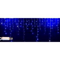 Светодиодная мерцающая бахрома синяя с герметичным колпачком Rich LED 3х0,5м
